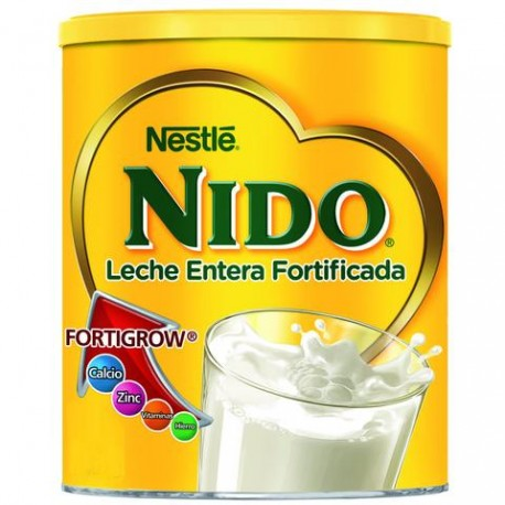 MEDIA CAJA FORMULA LACTEA NIDO CLASICA DE 360 GRS CON 12 LATAS - NESTLE - Envío Gratuito