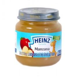 MEDIA CAJA PAPILLA HEINZ DE MANZANA DE 113GRS EN 12 FRASCOS - HEINZ