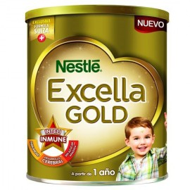 MEDIA CAJA FÓRMULA LÁCTEA NIDO EXCELLA GOLD DE 800 GRS. EN 6 LATAS - NESTLÉ