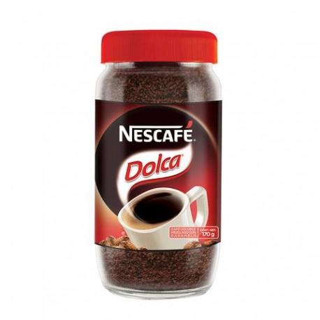 CAFÉ NESCAFE DOLCA DE 170 GRS EN 15 FRASCOS - NESTLE - Envío Gratuito