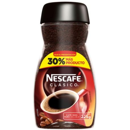 CAJA CAFÉ NESCAFE CLÁSICO DE 225GRS CON 12 FRASCOS - NESTLE - Envío Gratuito