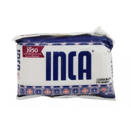 CAJA MANTECA INCA DE 250 GRS CON 48 PIEZAS - ACH FOODS - Envío Gratuito