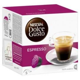 CAJA CAFE DOLCE GUSTO CAPSULA EXPRESSO EN 16 CAPSULAS DE 96 GRS CON 3 CAJAS - NESTLE