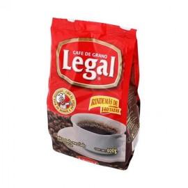 MEDIA CAJA CAFÉ LEGAL TRADICIONAL BOLSA DE 400 GRS CON 12 PIEZAS - SABORMEX