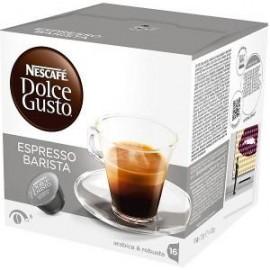 CAJA CAFE DOLCE GUSTO CAPSULA EXPRESSO BARISTA EN 16 CAPSULAS DE 120 GRS CON 3 CAJAS - NESTLE