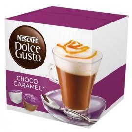 CAJA CAFÉ DOLCE GUSTO CHOCO CARAMEL DE 204.8 GRS DE 16 CAPSULAS EN 3 PAQUETES - NESTLE