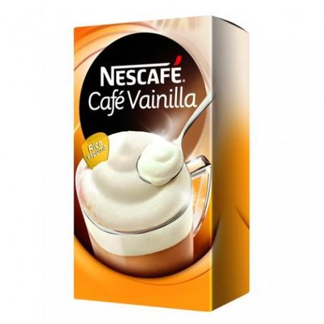 MEDIA CAJA CAFÉ CAPUCCINO VAINILLA DE 25 GRS EN 15 PIEZAS CON 3 PAQUETES - NESTLE - Envío Gratuito
