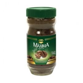 CAJA CAFÉ SOLUBLE MAXIMA DECAF DE 100 GRS CON 12 PIEZAS - MAXIMA