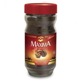MEDIA CAJA CAFÉ SOLUBLE MAXIMA PREMIUM DE 100 GRS CON 6 PIEZAS - MAXIMA
