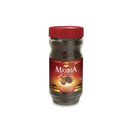 MEDIA CAJA CAFÉ SOLUBLE MAXIMA PREMIUM DE 100 GRS CON 6 PIEZAS - MAXIMA - Envío Gratuito