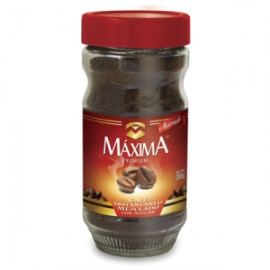 CAJA CAFÉ SOLUBLE MAXIMA PREMIUM DE 200 GRS CON 12 PIEZAS - MAXIMA
