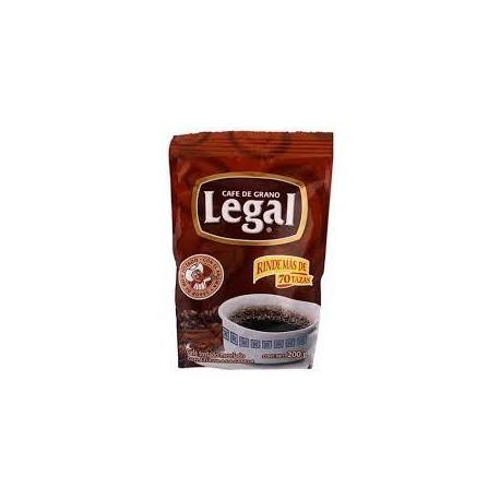 MEDIA CAJA CAFÉ LEGAL CANELA DE 15 GRS EN 2 PAQUETES CON 30 PIEZAS - SABORMEX - Envío Gratuito