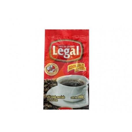 MEDIA CAJA CAFÉ LEGAL TRADICIONAL BOLSA DE 200 GRS CON 12 PIEZAS - SABORMEX - Envío Gratuito