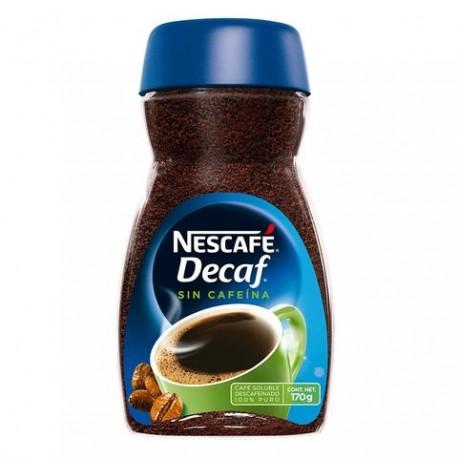 MEDIA CAJA CAFÉ NESCAFE DECAF DAWN DE 170 GRS CON 6 PIEZAS - NESTLÉ - Envío Gratuito
