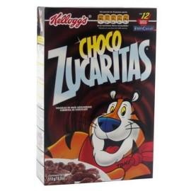 MEDIA CAJA CEREAL CHOCO ZUCARITAS DE 260 GRS CON 14 PIEZAS - KELLOGGS