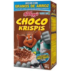 CAJA CEREAL CHOCO KRISPIS DE 490 GRS CON 21 PIEZAS - KELLOGGS