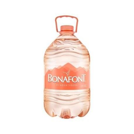 AGUA BONAFONT DE 6 LITROS - DANONE - Envío Gratuito