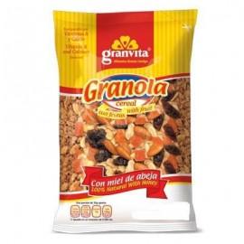 PAQUETE GRANOLA GRANVITA CON FRUTAS DE 800 GRS CON 16 PIEZAS - GRUPO VIDA